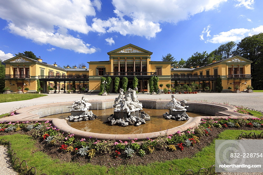 The Kaiservilla, Imperial Villa, Bad Ischl, Salzkammergut area, Upper Austria, Austria, Europe