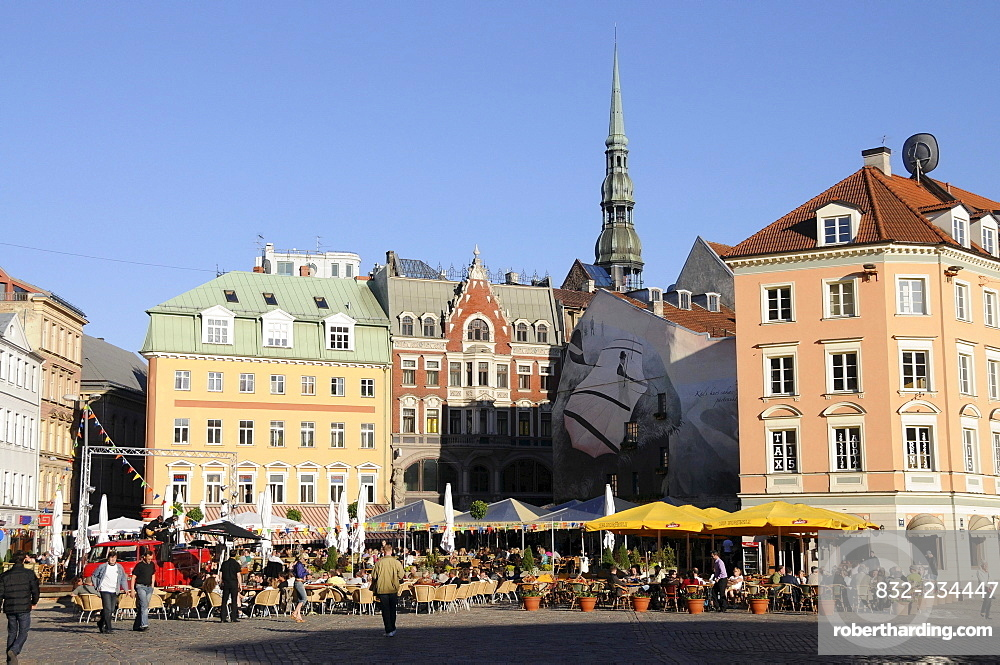 Cathedral Square, Old Town, Riga, Latvia, Baltic States, Europe