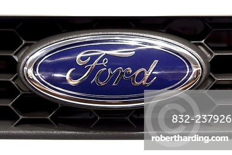 Ford emblem on a car