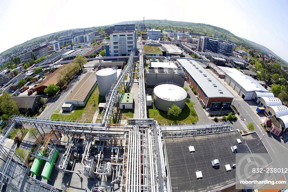 Premises of the pharmaceutical company Boehringer Ingelheim GmbH, Ingelheim, Rhineland-Palatinate, Germany, Europe