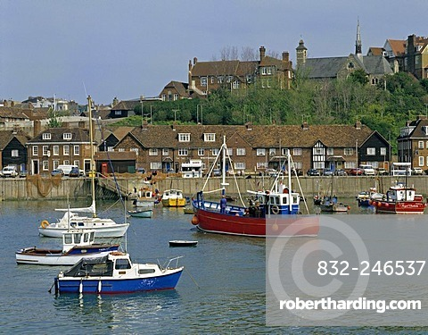 Folkestone Harbour, Kent, England, United Kingdom, Europe