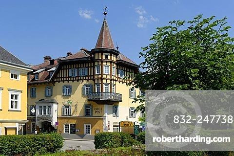 Hotel Post, Weyer Markt, Upper Austria, Austria, Europe