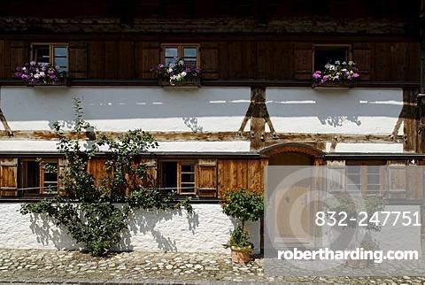 Farm house, Trauchgau, Swabia, Bavaria, Germany, Europe