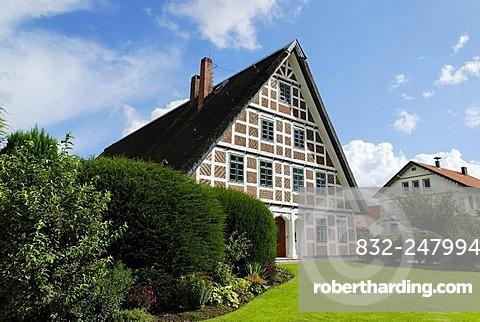 Residential house, Jork, Altes Land, Lower Saxony, Germany, Europe