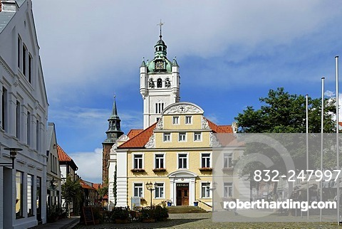 Town Hall, Verden an der Aller, Lower Saxony, Germany, Europe