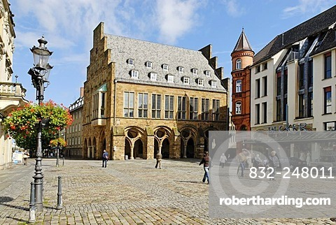 City Hall, Minden, North Rhine-Westphalia, Germany, Europe