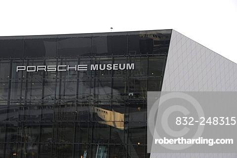 New Porsche Museum, Stuttgart, Baden-Wuerttemberg, Germany, Europe