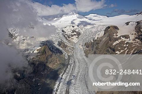 Pasterze Glacier, Hohe Tauern National Park, Carinthia, Austria, Europe