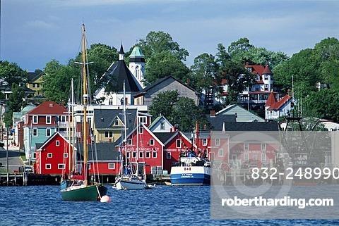 Lunenburg Harbour, UNESCO World Heritage Site, Nova Scotia, Canada, North America