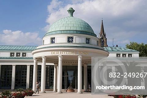 Pump Room, Bad Pyrmont, Weserbergland, Lower Saxony, Germany, Europe
