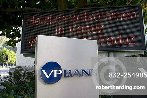 Logo of the VP Bank, Vaduz, Liechtenstein, Europe
