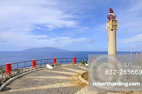 Miradouro Padrao, viewpoint, Sao Filipe, Fogo Island, Cape Verde Islands, Africa
