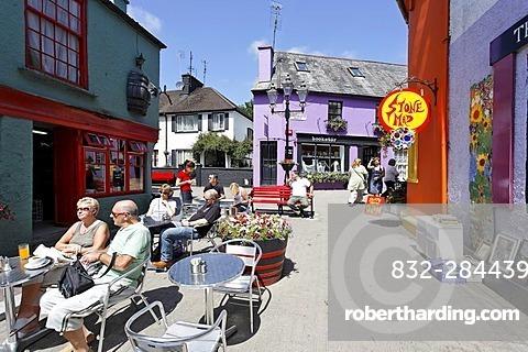 Colourful pubs and houses, Kinsale, Cork, Ireland