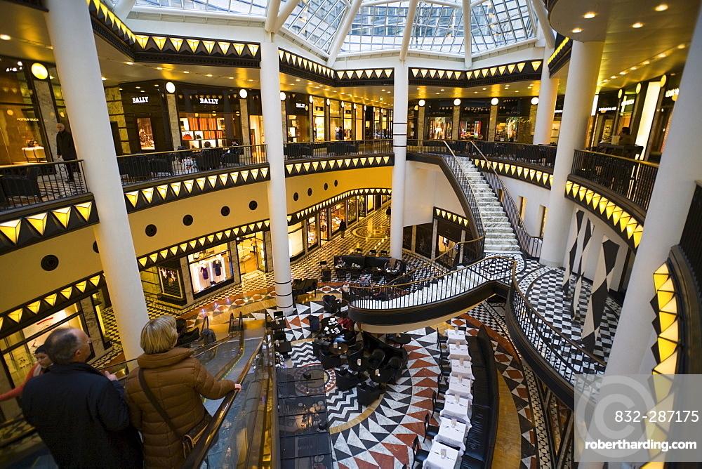 Noble Shopping-Center Quartier 206, Friedrichstrasse, Mitte, Berlin, Germany, Europe