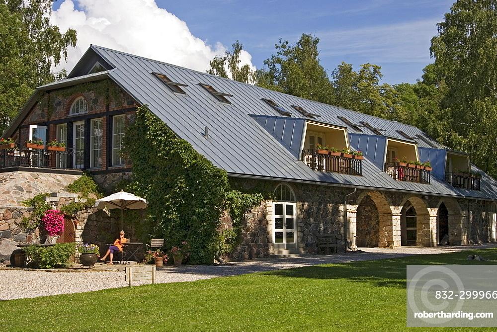 Paedaste Hotel on Muhu Island, Estonia, Europe