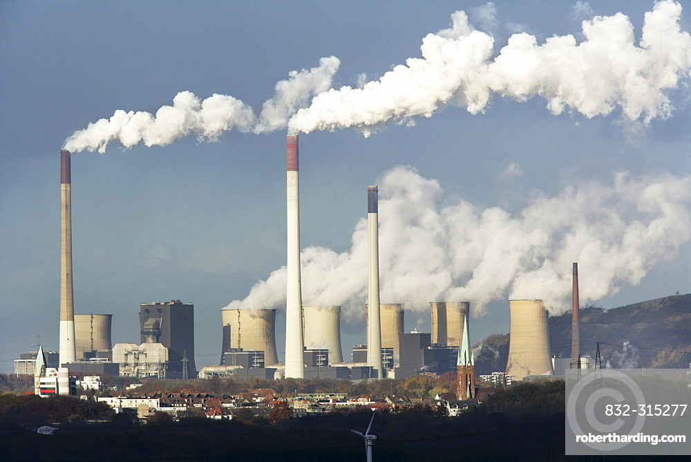 Scholven coal-fired power station, Gelsenkirchen, North Rhine-Westphalia, Germany, Europe