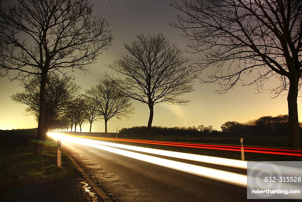 Highway, ThyssenKrupp Steelworks, Duisburg, North Rhine-Westphalia, Germany, Europe
