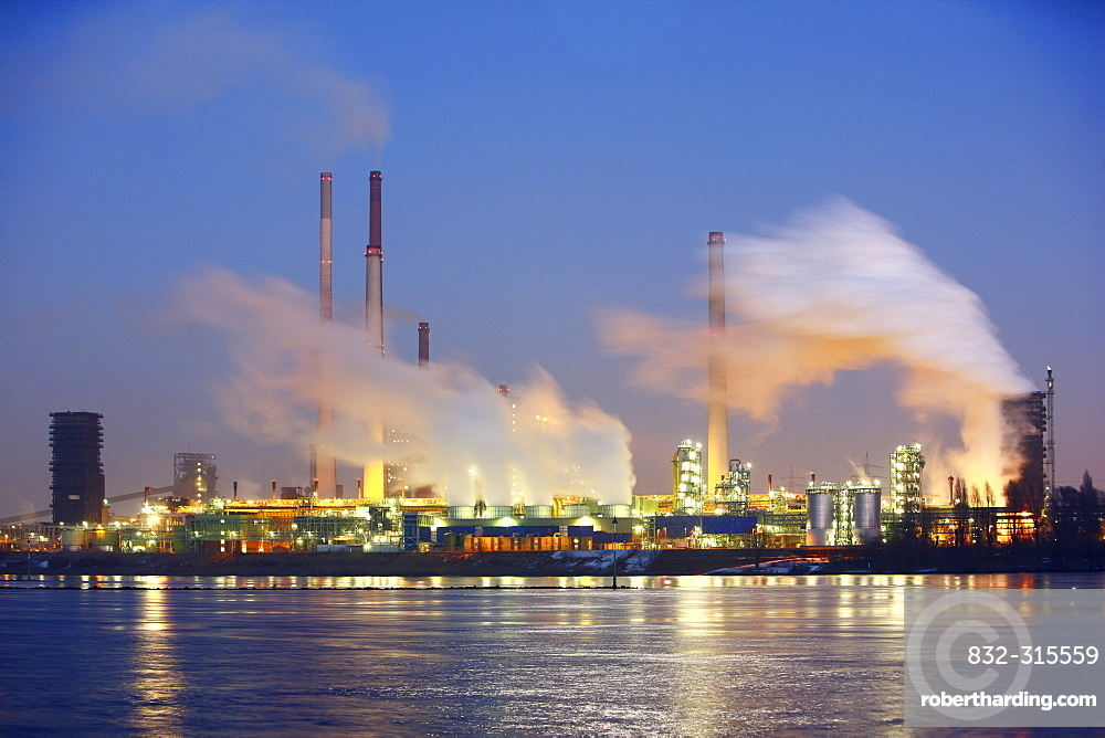 Thyssen-Krupp steelworks, Duisburg, North Rhine-Westphalia, Germany, Europe