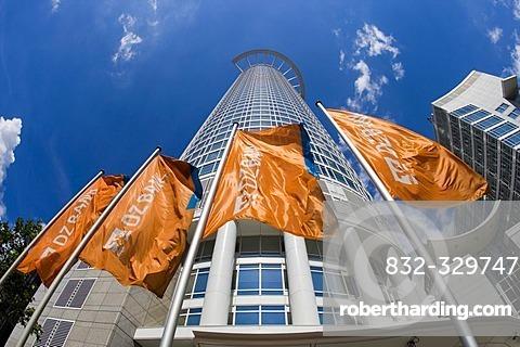 The DG Bank, Frankfurt, Hesse, Germany.