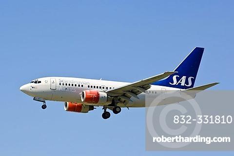 SAS Boeing 737-500,