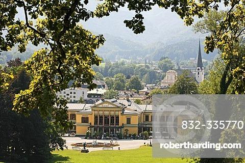 The Imperial Villa (Kaiservilla) in Bad Ischl, Salzkammergut, Upper Austria