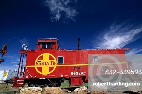 Railroad, Santa Fe, New Mexico, USA