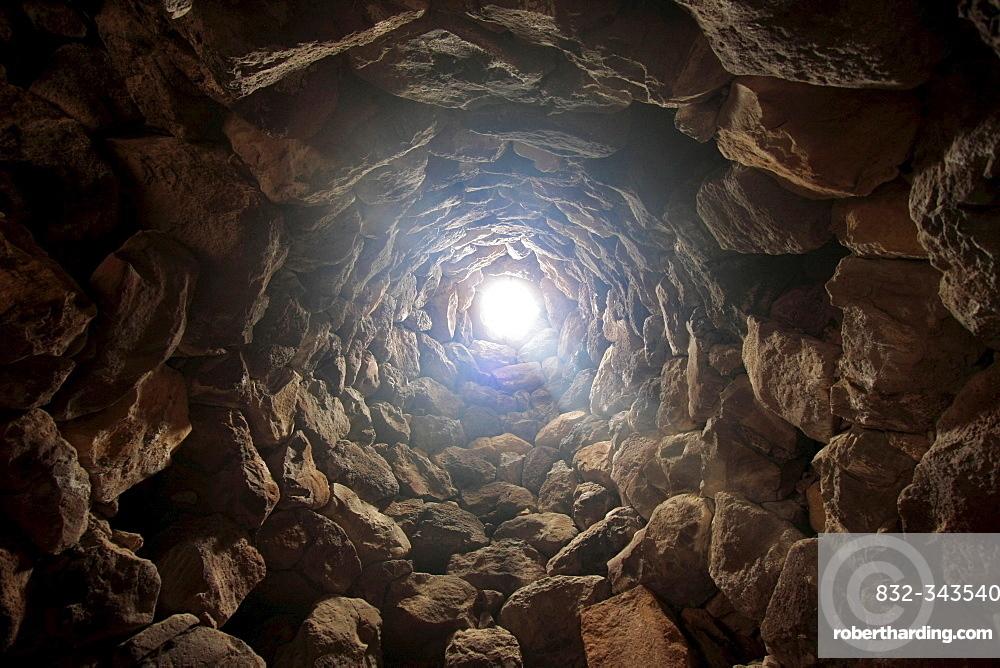 Unesco World Heritage Site Su Naraxi, Bronze-age defensive structure, Barumini, Sardinia, Italy, Europe