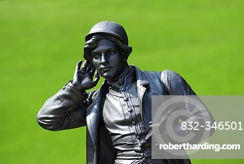 Statue in the Kaiserpark Bad Ischl, Salzkammergut, Austria