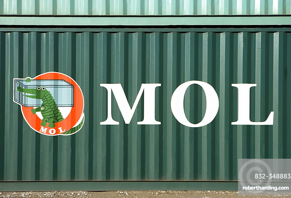 MOL shipping container