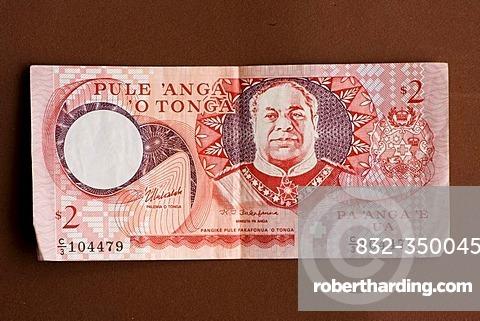 Banknote of Tonga