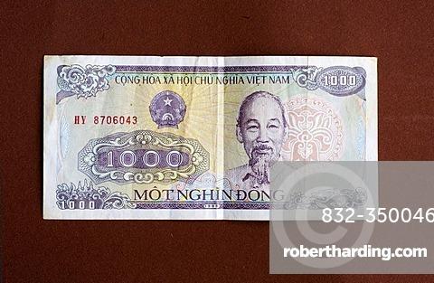 Banknote of Vietnam