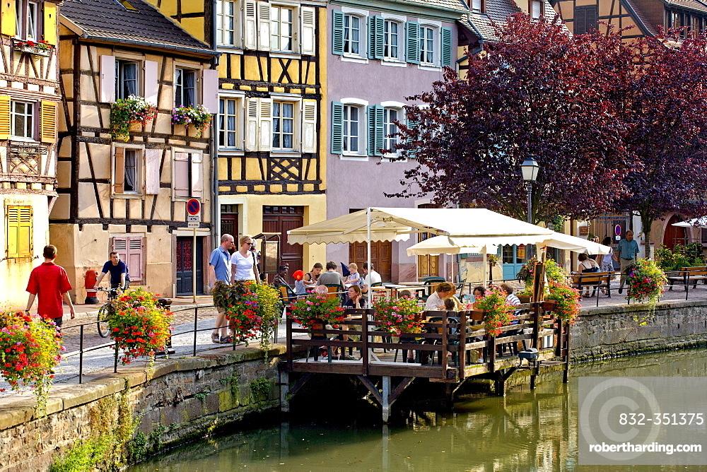 Petite Venise, Colmar, Alsace, France, Europe