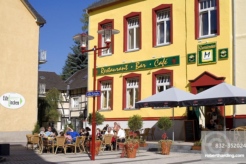 Restaurant Alte Schule, Old School, Eifel, North Rhine-Westphalia, Germany, Europe