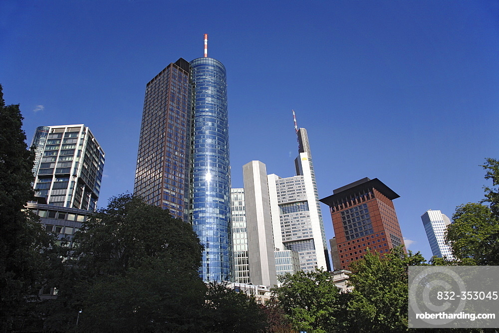 Office block, Frankfurt am Main, Hesse, Germany, Europe