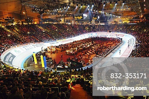 Six day race in Olympiahalle Munich Germany