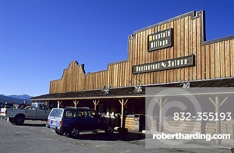 Saloon in Stanley, Sawtooth National Recreation Area, Idaho, USA