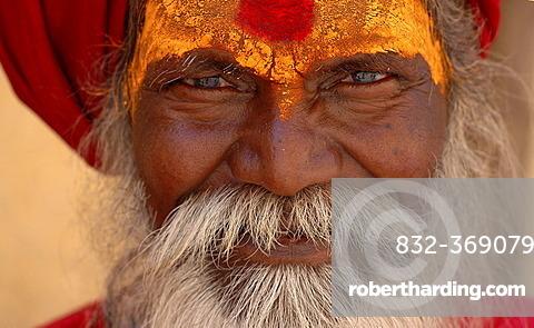 Monk (Sadhu), Amber, Rajasthan, India