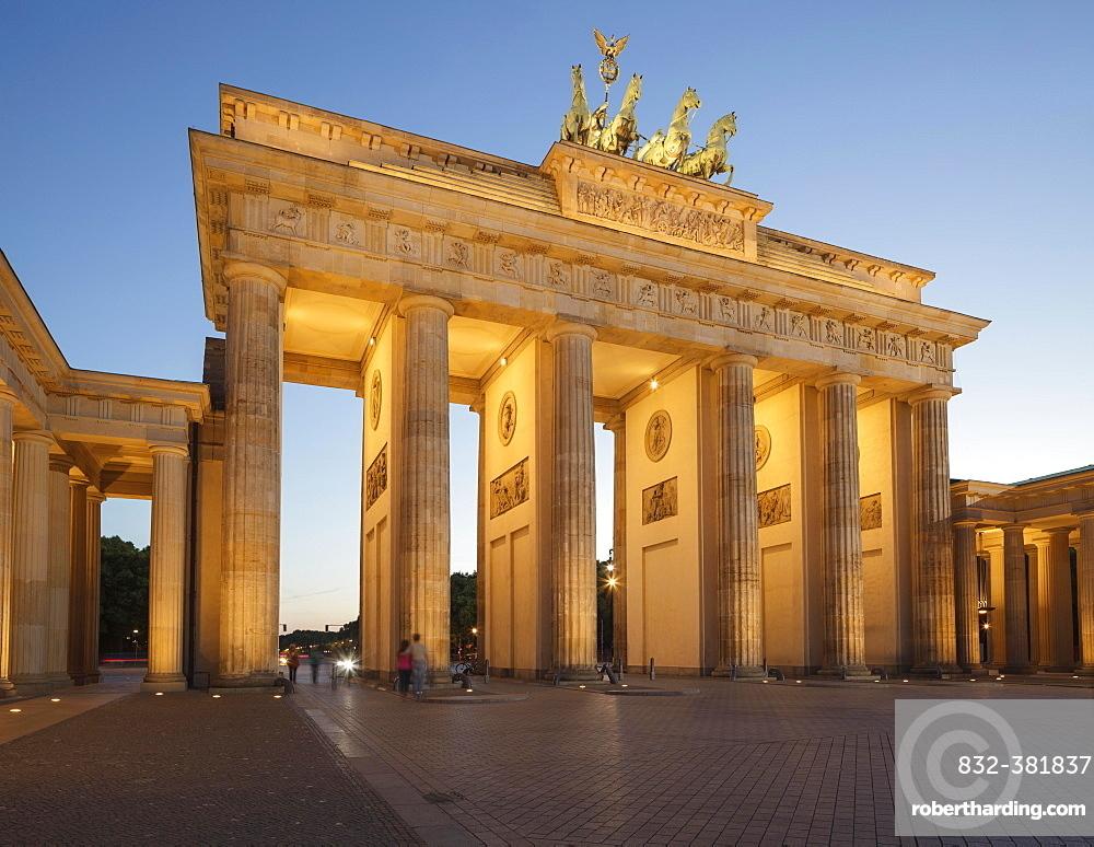 Brandenburg Gate, Berlin, Germany, Europe