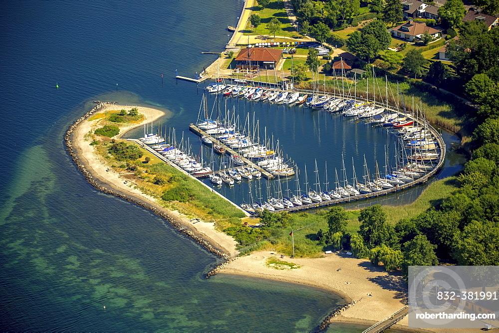 Neustädter Segelverein e.V. sailing club, Bay of Lübeck, Neustadt in Holstein, Schleswig-Holstein, Germany, Europe