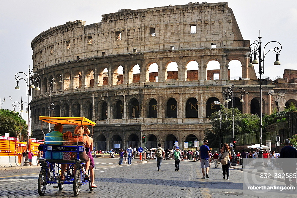 Colosseum, Rome, Lazio, Italy, Europe