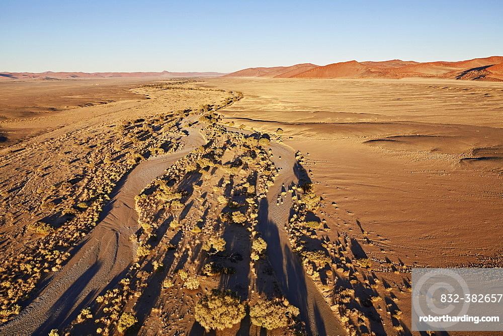 Namib, aerial view, Namib-Naukluft National Park, Namibia, Africa