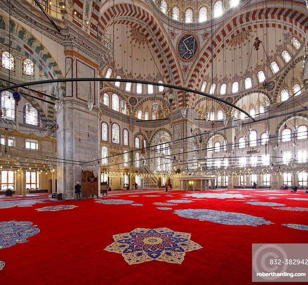 Fatih Mosque, Fatih Camii or Conqueror's Mosque, Fatih district, Istanbul, European side, Turkey, Asia