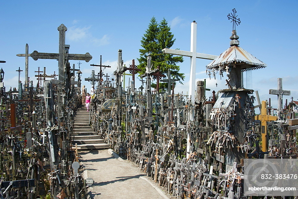 Hill of Crosses, Siauliai, Lithuania, Baltic States, Europe