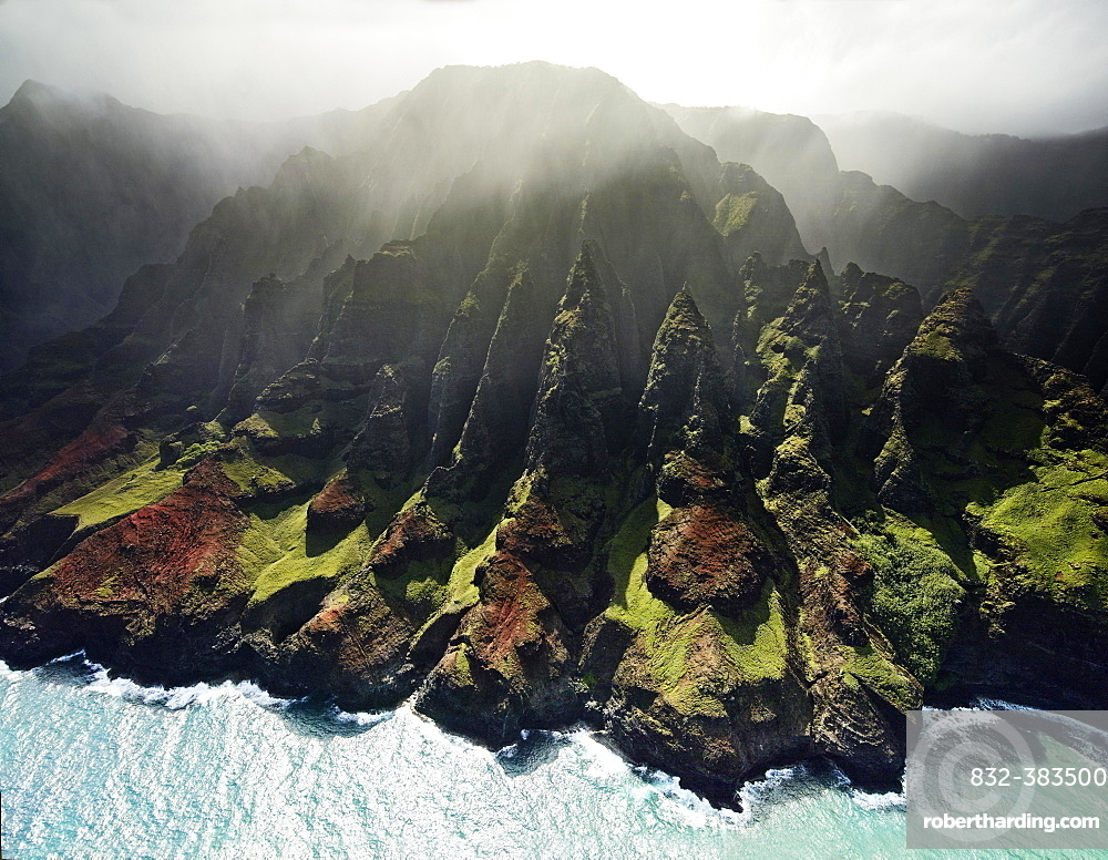 Napali Coast, Kaua'i, Hawaii, USA, North America