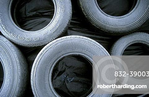 Frozen tires
