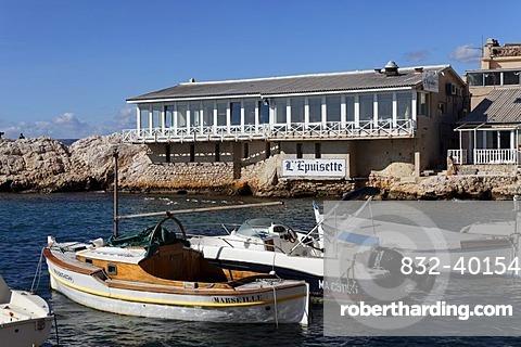 Port of Vallon des Auffes, Marseille, Marseilles, Bouches-du-Rhone, France, Europe