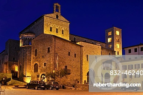 Romanesque Cathedral of Santa Maria, 11th century, Anagni, Lazio, Italy, Europe