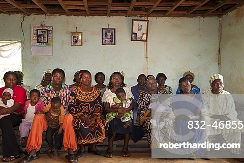 Gathering of farmers, Bamenda, Cameroon, Africa