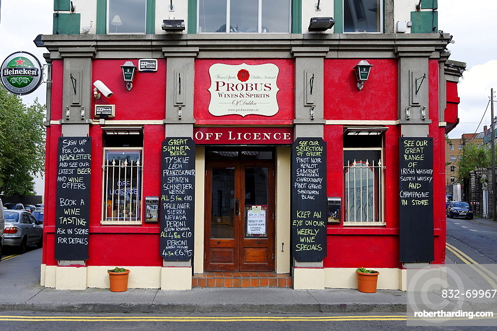 Probus Wines and Spirits, liquor stores, Dublin, Republic of Ireland, Europe