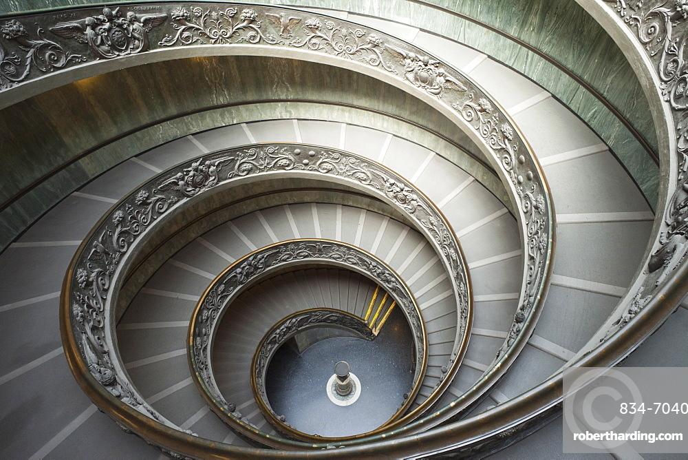 Italy, Rome, The Vatican, Vatican Museum, designed by Guiseppe Momo in 1938, Vatican Museum, The Vatican, Rome, Lazio, Italy, Europe